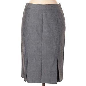TAHARI pencil skirt gray size 4